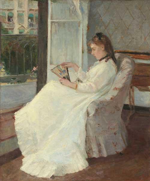 """""""La sorella dell'artista alla finestra"""""""