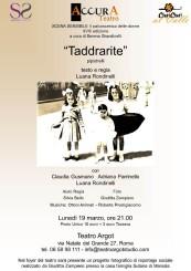"""""""Taddrarite"""" di Luana Rondinelli"""