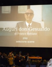 """Auguri don Gesualdo"" di Franco Battiato"