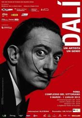 """""""Dalí: un artista, un genio"""" al Complesso del Vittoriano"""