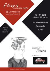 Flanerí Birthday Night @ Contestaccio (Roma)