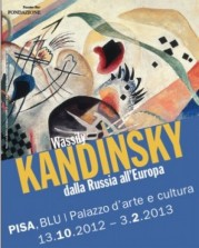 """""""Wassily Kandinsky. Dalla Russia all'Europa"""" al Palazzo Blu di Pisa"""
