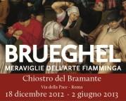 """""""Brueghel. Meraviglie dell'arte fiamminga"""" al Chiostro del Bramante"""