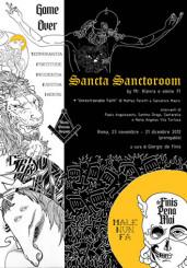 """Sancta Sanctoroom"" alla -1 art gallery di Roma"