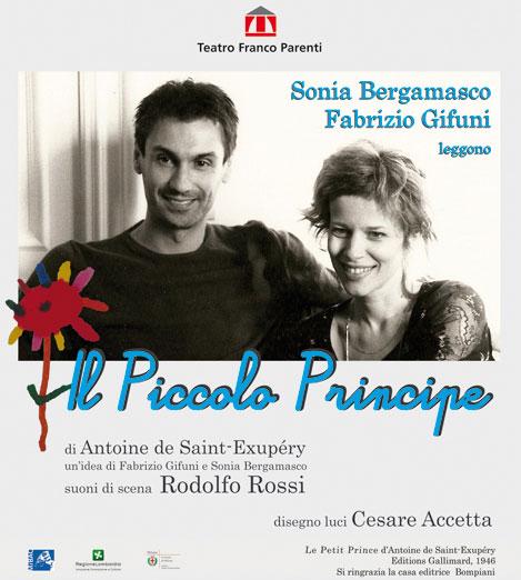 """Il Piccolo Principe"""" di Fabrizio Gifuni e Sonia Bergamasco"""