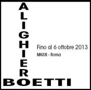 """""""Alighiero Boetti a Roma"""" al MAXXI"""