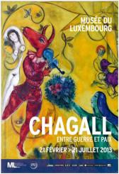 Marc Chagall al Musée du Luxembourg di Parigi