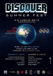 """""""Discover Summer Fest"""" al Rec di Castel Gandolfo"""