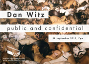 """Public and Confidential"" di Dan Witz alla Wunderkammern Art Gallery"