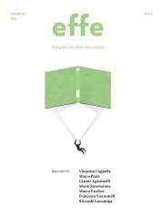 """""""effe – Periodico di Altre Narratività"""": numero due"""