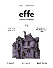 effe #4: presentazione in anteprima a Roma