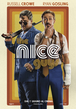 The Nice Guys Poster italiano Flanerí