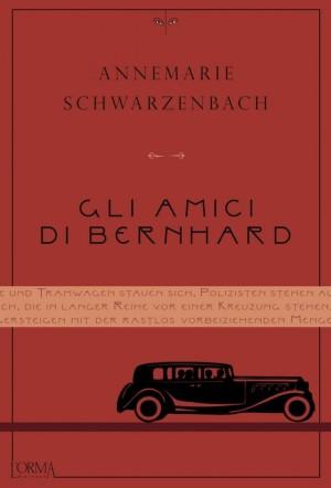 Gli amici di Bernhard di Annemarie Schwarzenbach copertina Flanerí