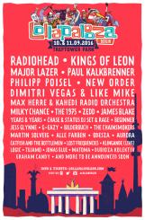 Lollapalooza, Berlino, 11 Settembre 2016