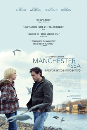 Poster italiano di Manchester by the Sea su Flanerí