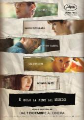"""""""È solo la fine del mondo"""" </br> di Xavier Dolan"""