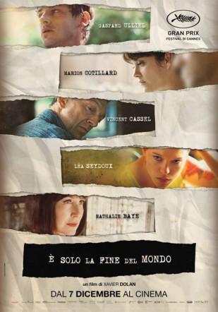 È solo la fine del mondo poster italiano su Flanerí