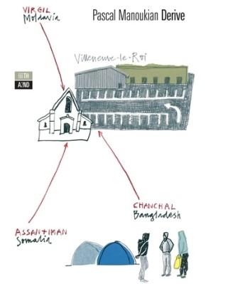 Copertina di Derive di Pascal Manoukian su Flanerí