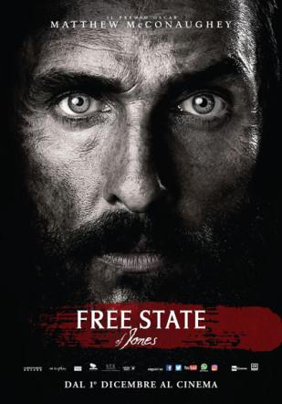 Poster italiano di Free State of Jones su Flanerí