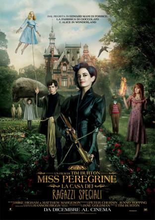 Poster italiano di Miss Peregrine di Tim Burton su Flaneri