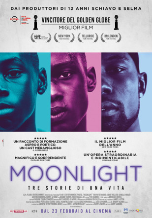 Poster italiano di Moonlight su Flanerí
