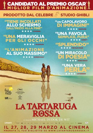 Poster di La tartaruga rossa su Flanerí