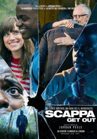 Poster italiano di Scappa - Get Out su Flanerí