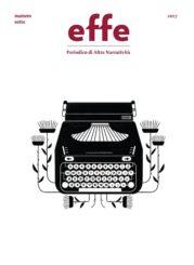 """""""effe – Periodico di altra narratività"""" numero sette"""