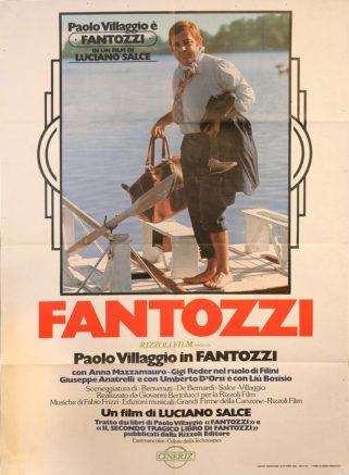 Poster italiano di Fantozzi su Flanerí