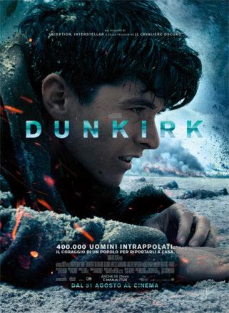 Poster italiano di Dunkirk su Flanerí