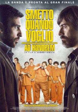 Poster di Smetto quando voglio – Ad Honorem su Flanerí