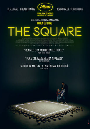 Poster italiano di The Square su Flanerí