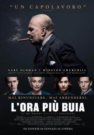 Poster del film l'ora più buia su Flanerí
