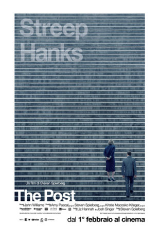Poster Italiano di The Post su Flanerí
