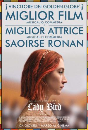 Poster italiano di Lady Bird su Flanerí