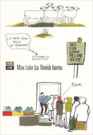 """Copertina di """"La Trinità bantu"""" di Max Lobe"""