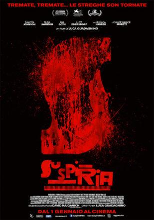 poster italiano di Suspiria su Flanerí