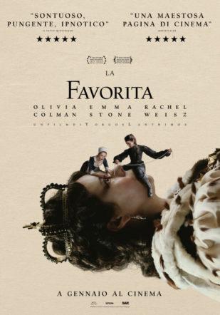 Poster di La favorita su Flanerí