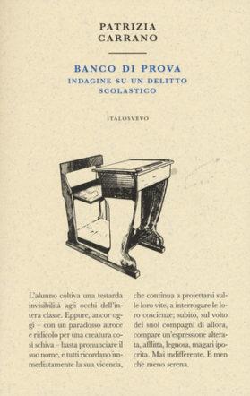 copertina di Banco di prova di Patrizia Carrano