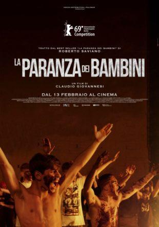 Poster del film La paranza dei bambini su Flanerí