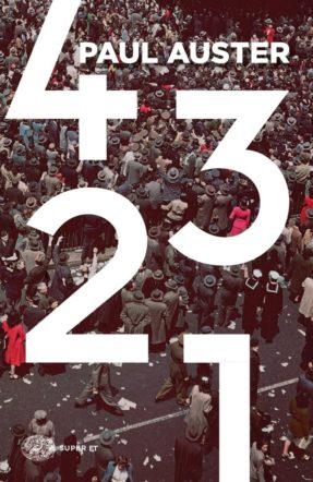 Copertina di 4321 di Paul Auster