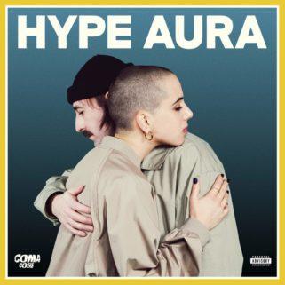 copertina di hype aura su flanerí