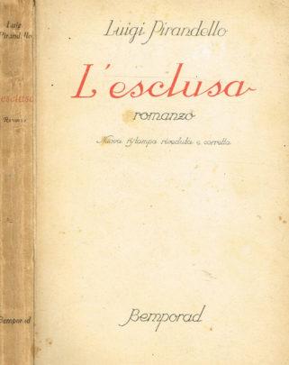 Copertina di L'esclusa di Luigi Pirandello
