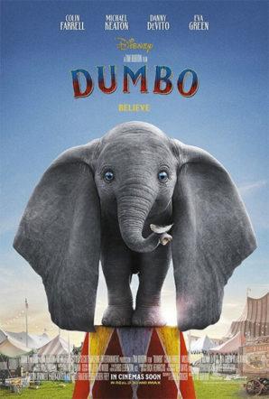 Poster del dumbo di Tim burton su Flanerí