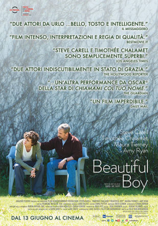 Poster italiano del film Beautiful Boy