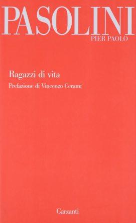 Copertina di Ragazzi di vita di Pier Paolo Pasolini