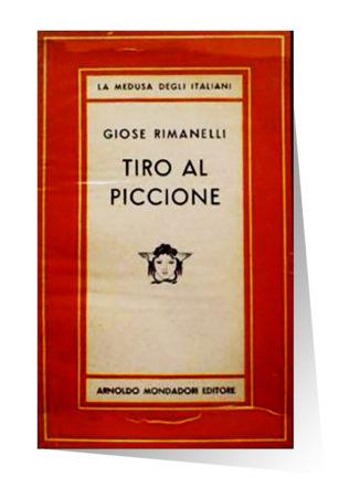 Copertina di Tiro al Piccione di Rimanelli