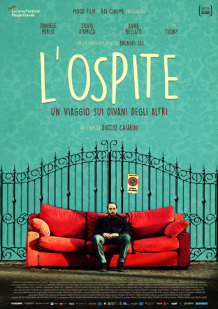 Poster del film L'ospite su Flanerí