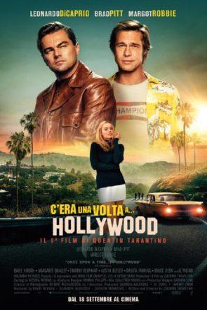 Poster del film c'era una volta...a Hollywood su Flanerí