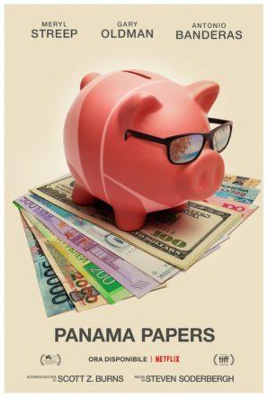 Poster del film Panama Papers su flanerí